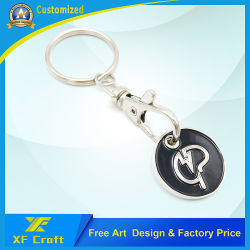 Manufacturer Custom Supermarket Trolley Key with Lower Price for Souvenir (XF-TK02)