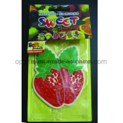 Promotional Sports Hanging Paper Car Air Freshener