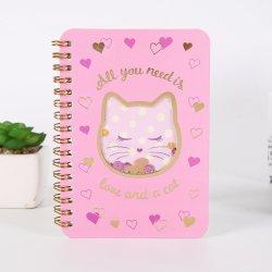 Factory Wholesale Hardcover Spiral Bound Notebook Custom Logo Printing Notebook