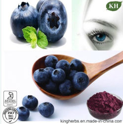 100% Natural Blueberry Extract 5%~35% Anthocyanidins, Anthocyanins 25%