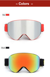 TPU Frame Prescription Outdoor Sports Safety Goggle Eye Protection Snowboard Ski Goggles