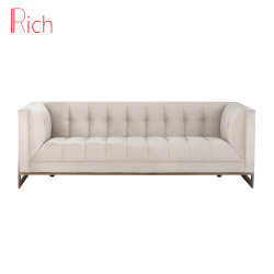 Factory Wholesale Modern Home Living Room Hotel Furniture Fabric Sofa