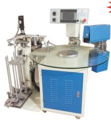 8 Stations Rotary Table Shoes Hot Stamping Machine for Inner Logo