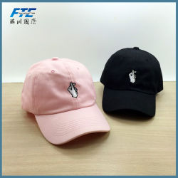 OEM Cotton Gesture Sport Baseball Caps with Logo Custom