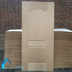 Solid Wood HDF/MDF EV Oak Veneer MDF Door Panel