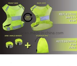 Outdoor Traffic Clothing Motorcycle Jacket Reflective Safety Vest Sports Running Gear