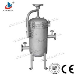 Stainless Steel Sanitary Cartridge Water Filter Housing for Water Treatment