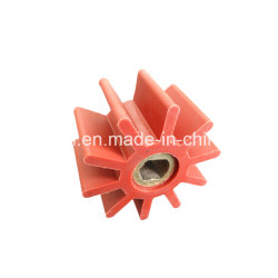Custom Pump Part Black Natural Rubber Impeller with SGS Certificate for Marine and Boat