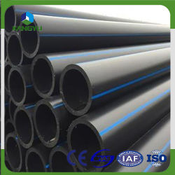 63mm 75mm 90mm 110mm HDPE100 Plastic Supply Drainage Pipe GB/T13663-2000