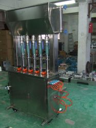 Full Pneumatic Vertical 5 Head Paste Filling Machine