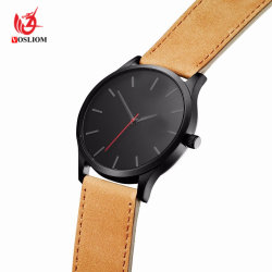 Mvmt Style Mens Military Sport Wristwatch Leather Quartz Watch#V412