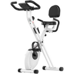 Gym Material, Indoor Cycling Folding Magnetic Erection Bike Stationary Bike with Tablet Stand for Household Gym Portable Sports Exercise Use Fitness Lose Weight