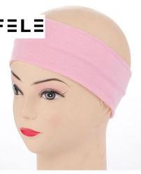 Yoga Spandex Thin Sports Elastic Headbands Stretchy Sweatbands Yoga Gym Head Band