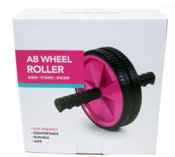 Color Box for Ab Wheel Roller Sports Packing / Corrugated Flute Box