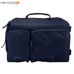Eco Professional Slr Best Digital Custom Camera Bag With Two Front Pockets Navy Blue Color