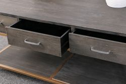 Living Room Rectangle Coffee Table with Drawers