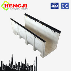 High Quality Polymer Concrete Water Gutter Per En1433