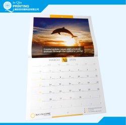 Custom Printing 2018 New Year Wall Calendar