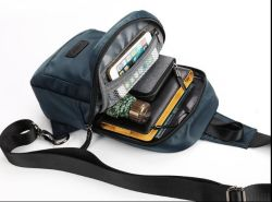 Chest Package Rucksack Leisure His Male Bags, Oxford Spinning Single Shoulder Bag
