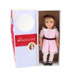 Big Baby Children Kid Surprise 18 Inch Blink Eyes American Girl Fashion Doll Toy