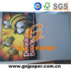 Competitive Price White Wood Pulp Sketch Book Used on Sketching
