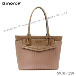 2017 Vogue PU Handbag for Office Lady Women with Gorgeous Workmanship Competitive Price Good Service