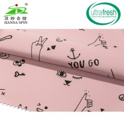 Hf Welded Printing PU Coated Polyester for Outdoor Sports Garments En14116 Fr