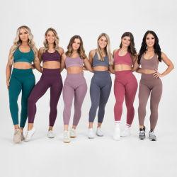 Wholesale Sport Suit Women Fitness Clothing Sport Wear Yoga Set Gym Sportswear Running Leggings Women Set