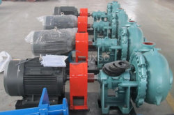 Hot Sale Centrifugal Sludge Pump Sand Gravel Dredge Solid Mining Slurry Pump