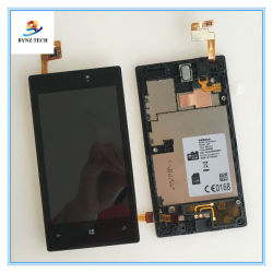 Smart Mobile Phone Touch Screen LCD For Nokia Lumia 520 Display Digitizer Assembly