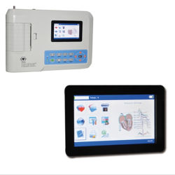 Low Price Ce Portable 3 Channel Parts of ECG Machine