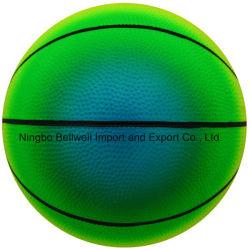 6 Inch Rainbow Color Durable Bouncy Basketball Sports