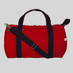 Cotton Canvas Sport Duffle Gear Bag for Fitness