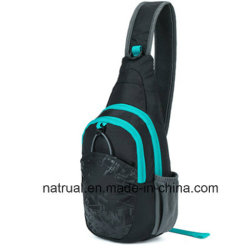 Polyester Shoulder Sling Bag with Single Strap
