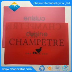 Custom Printing Hard Plastic PP Coffee Table Mat