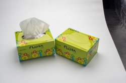 High Absorption Custom Small Box Packaging Facial Tissue 2 Ply Toilet Paper