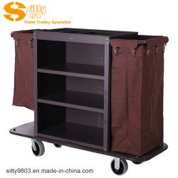 Hotel Service Cart/Housekeeping Cart for Hotel Cleaning (SITTY 99.7801C)
