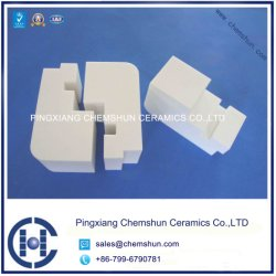 Wear Alumina Ceramic Block/Top Chinese Wear Ceramics Manufacturer