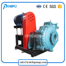 High Quality Belt Driven Big Particle Mud Transfer Slurry Pump with Best Price