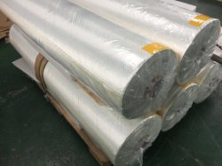 +/- 45 Degree 875GSM Fiberglass Multiaxial (Biaxial) Fabric with Mat Attached