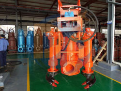 Vertical Submersible Hydraulic Motor Dredging Slurry Pump with Ce