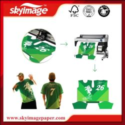 Adhesive 80GSM Dye Sublimation Paper Wholesale for Sportswear/Cycling