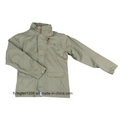 100% Cotton Canvas Waterproof Breathable Taped Seam Men's Jacket