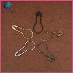 Price Tag Hanging 20mm Gunmetal Pear Shaped Garment Safety Pins