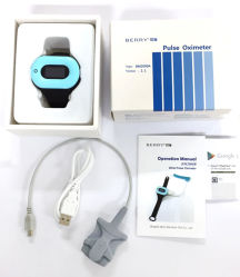Pulse Oximetre with Large Sensor for Apple Ios Device