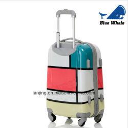 New Fashion Women Travel Bags Four Direction Wheels Trolley Luggage