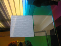 Produce 3mm Safety Mirror with Vinyl Back Factory