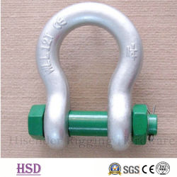 Stainless Steel304/316 High Quality Bow Shackle for Hardware Lifting