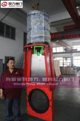 Heavy Duty Kgd Slurry Knife Gate Valve with Pneumatic Actuator