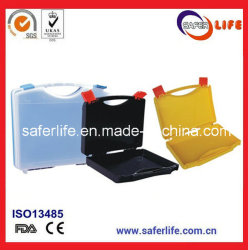Hot Sale PP Materisl Empty First Aid Tool Box Plastic Tool Box Cases Kit with Colorful Design